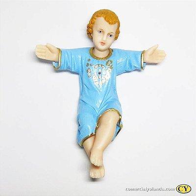 Imagem de Menino Jesus de 20 cm - A Unidade - Cód.:  7117
