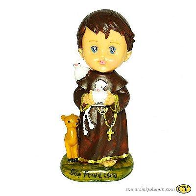 São Francisco de Assis criança G - A Unidade - Cód.: 8571