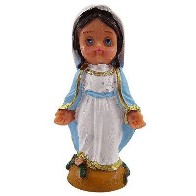Nossa Senhora das Graças com medalha criança M - O Pacote com 3 peças - Cód.: 7913
