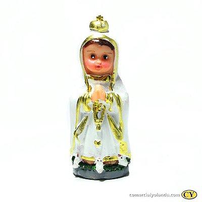 Nossa Senhora de Fátima Criança P - O pacote com 3 unidades - Cód.: 4048