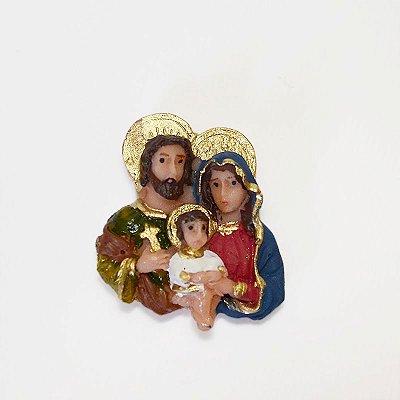 Ímã em resina da Sagrada Família - Pequeno - Pacote com 6 peças - Cód.: 5539