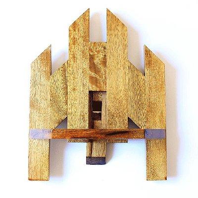 Porta biblia pequeno em madeira - A unidade - Cód.: 5307