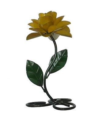 Castiçal Flor Pequeno - A unidade - Cód.: 843