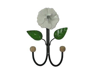 Cabide de Metal em Forma de Flor Grande - A unidade - Cód.: 3467