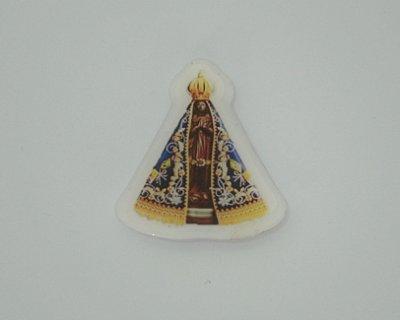 Ímã Imagem V. Líquido de Nossa Senhora Aparecida - Pacote com 12 unidades - Cód.: 8423
