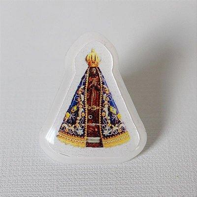 Botton Imagem - V. Líquido - Nossa Senhora Aparecida - A Dúzia - Cód. 1421