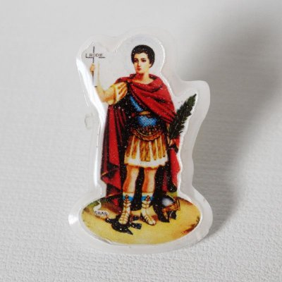 Botton Imagem - V. Líquido - Santo Expedito - A Dúzia - Cód. 1421