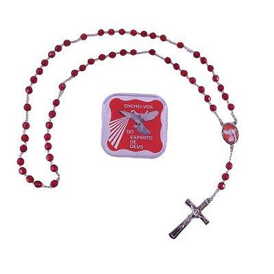 Terço do Divino Espírito Santo - O pacote com 6 peças - Cód.: 2493