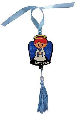 Pendulo Bibelô do Anjo da Guada em MDF - O pacote com 3 peças - Cód.: 5746