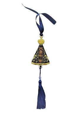 Pendulo Bibelô de Nossa Senhora Aparecida em MDF - O pacote com 3 peças - Cód.: 5746
