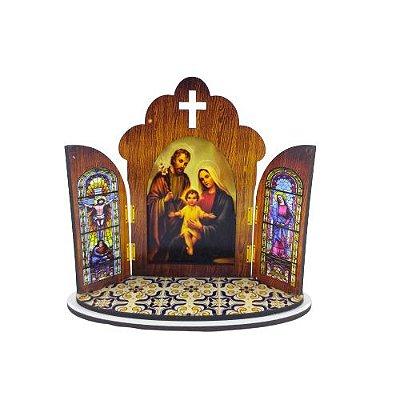 Capela Portuguesa da Sagrada Família - O pacote com 3 peças - Cód.: 6355