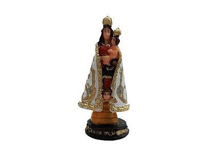 Imagem de Nossa Senhora de Nazaré PP em resina - O pacote com 3 peças - Cód.: 5774