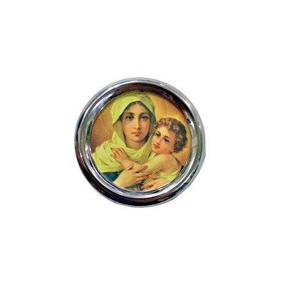 Imã Redondo de Mãe Rainha - A dúzia - Cód.: 1555