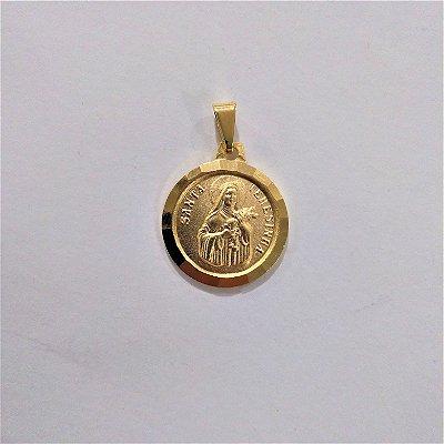 Medalha de Santa Terezinha - O pacote com 3 peças - Cód.: 6043