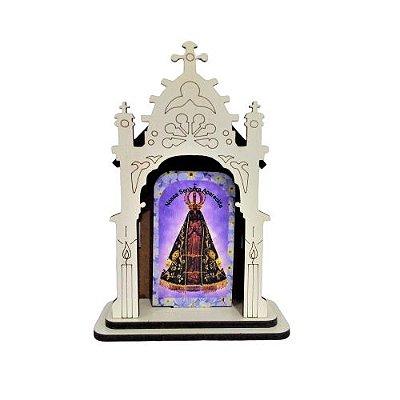 Capela PP de Nossa Senhora Aparecida - O pacote com 3 peças - Cód.: 6421