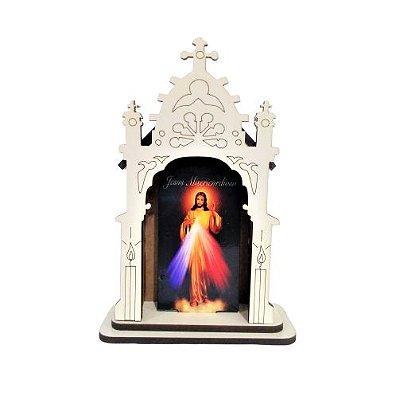 Capela PP - Jesus Misericordioso - O pacote com 3 peças - Cód.: 6421