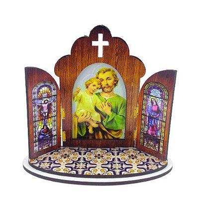 Capela Portuguesa de São José - O pacote com 3 peças - Cód.: 6355