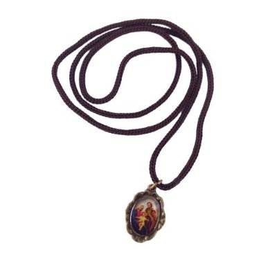Cordão com Medalha Ramo, Sagrada Família - A dúzia - Cód.: 3916
