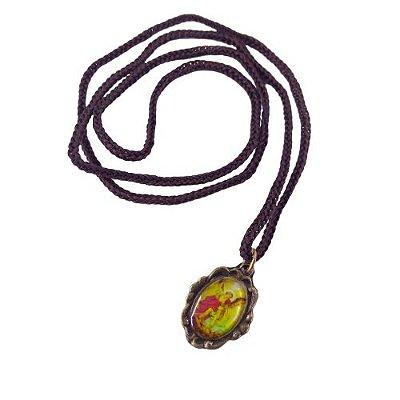 Cordão com Medalha Ramo, São Miguel Arcanjo - A dúzia - Cód.: 3916