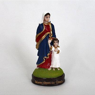 Imagem Maria Passa na Frente de 13 cm em resina - Pacote com 3 Unidades - Cód.: 6167