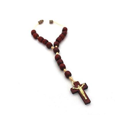 Dezena bola 8 com fecho e com Cristo - A Dúzia - Cód.: 1251