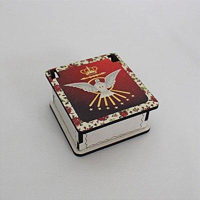 Caixa em MDF do Divino Espírito Santo - O pacote com 3 peças - Cód.: 4444