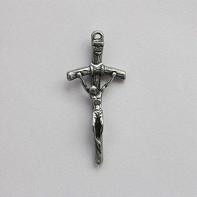 Cruz do Papa em níquel - Pacote com 30 peças - Cód.: 7897