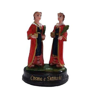 Imagem de Cosme e Damião P em resina - O Pacote com 3 peças - Cód.: 6379