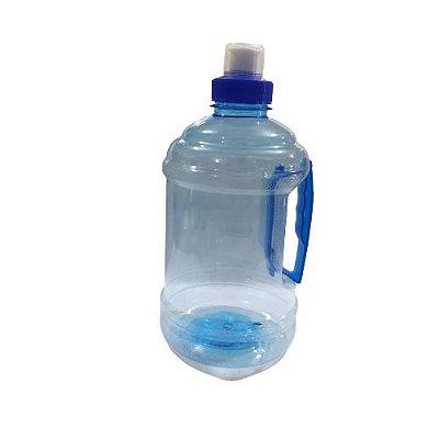 Garrafa Plástica de 1 Litro na Cor Azul - A Unidade - Cód.: 1393