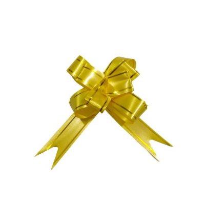 Laço para Presente G na Cor Amarela - O Pacote com 200 unidades - Cód.: 5553