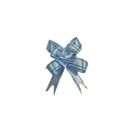 Laço para Presente G na Cor Azul Claro - O Pacote com 200 unidades - Cód.: 5553