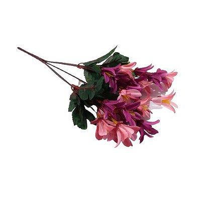 Flor Artificial - Modelos Sortidos - O Pacote com 3 unidades - Cód.: 5541