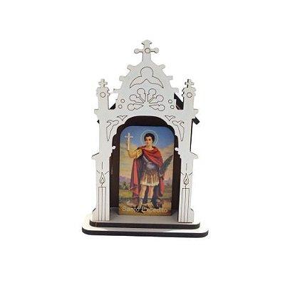 Capela PP de Santo Expedito - O Pacote com 3 peças - Cód.: 6421