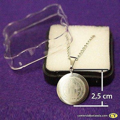 Medalha de São Bento Grande - O Pacote com 3 unidades - Cód.: 6636