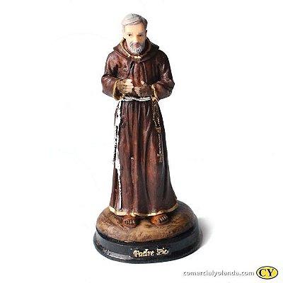Imagem do Padre Pio G em resina - A unidade - Cód.: 3937