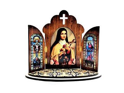 Capela Portuguesa de Santa Terezinha - O Pacote com 3 peças - Cód.: 6355