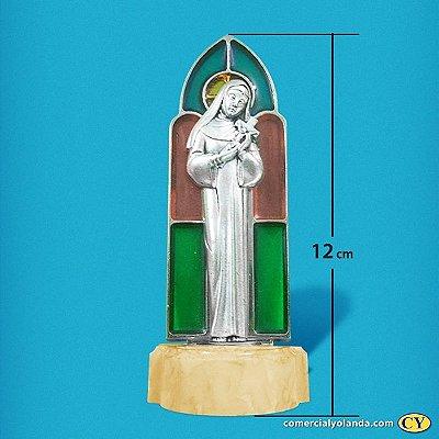 Pia para água benta de Santa Rita - Vitral - A Unidade - Cód.: 8180