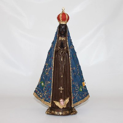 Imagem em Resina de Nossa Senhora Aparecida - 30 cm - Cód.: 8828