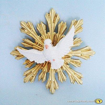 Divino Espirito Santo de parede - Pacote com 3 peças - Cód.: 5536
