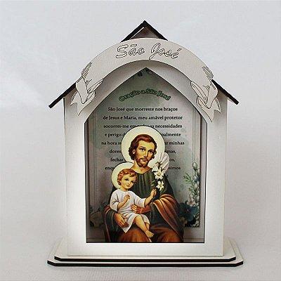 Capela Personalizada em MDF de São José - A Peça - Cód.: 7889
