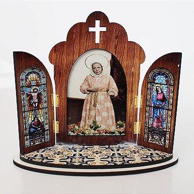 Capela modelo Portuguesa de Nhá Chica - O Pacote com 3 peças - Cód.: 6355