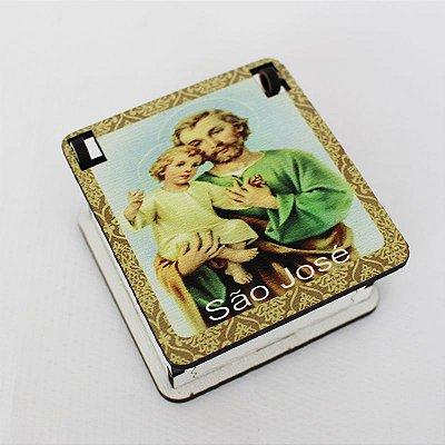 Caixa em MDF de São José - O pacote com de 3 peças - Cód.: 4444
