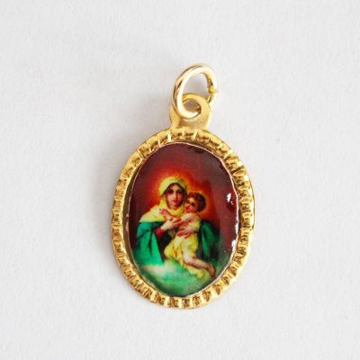 Medalha de Alumínio Resinada - Mãe Rainha - Pacote com 100 peças - Cód.: 447