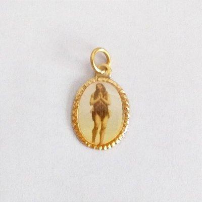 Medalha de Alumínio Resinada - Santo Onofre - Pacote com 100 peças - Cód.: 447