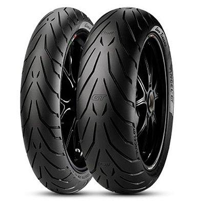 Par Pneus Pirelli Angel GT 110/80-18+160/60-17