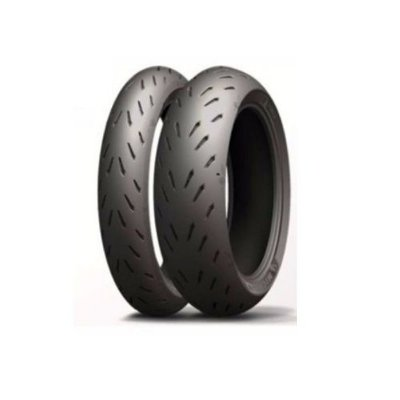 Combo/Par Pneus Michelin Power RS 120/70-17+180/55-17