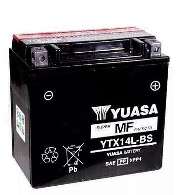 Bateria Yuasa Ytx14L-Bs Harley Davidson 883