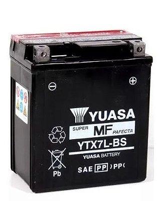 Bateria Yuasa Ytx7L-Bs Twister Tornado Falcon