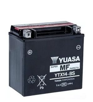 Bateria Yuasa Ytx14-Bs VT750 ST1100 GL1500 DR800 DL1000