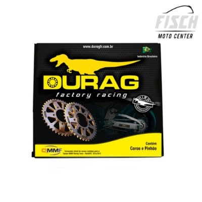 KIT TRANSM COROA/PINHÃO DURAG  F800 R (JTR3,47 FOR 10,5MM BOLTS) Z 47 09-16 1045